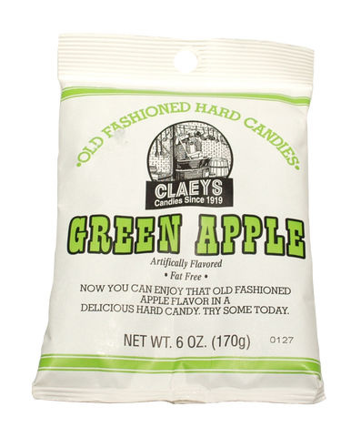 Candy Claey's Green Apple