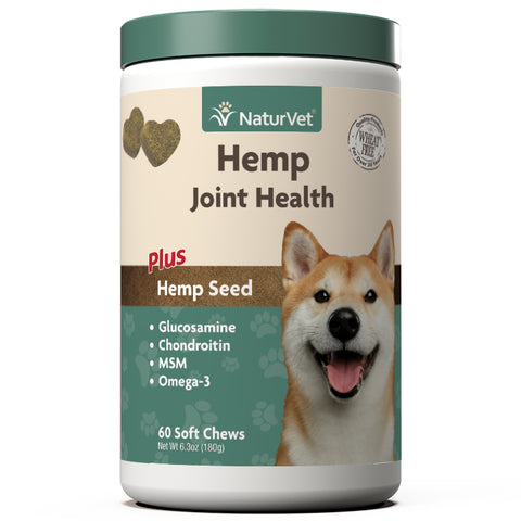 Naturvet Hemp Joint Health Soft Chews 60 count