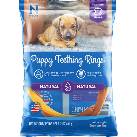 Dog Treat-Puppy Teething Rings