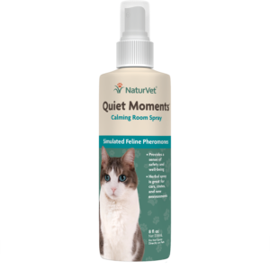 Naturvet Quiet Moments Calming Room Spray CAT 8 oz