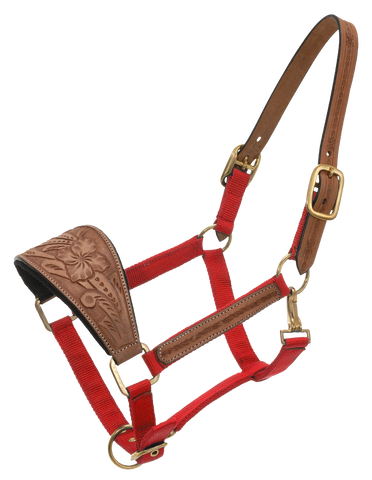 Bronc Halter with Carved Nose