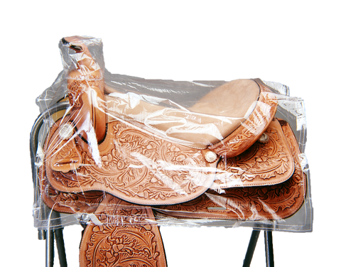Clear Saddle Cover (Western)