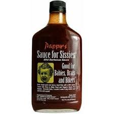 Pappy's Sauce for Sissies - Mild BBQ Sauce