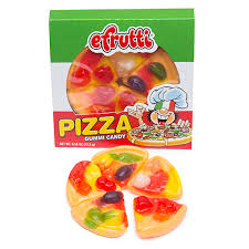 Candy-Gummi Pizza