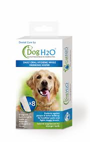 Dog H20 Dental Care Dissolving Tablets Cat/Dog 8 pack