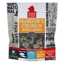 Plato Pet Treats Hundur's Crunch Jerky
