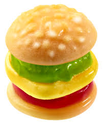 Candy-E-Frutti Mini Burger