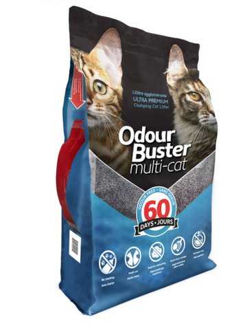 Odour Buster Multi-Cat Clumping Litter