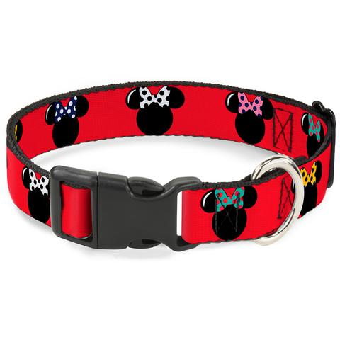 Buckle Collar and Leashes-Disney-Minnie Mouse