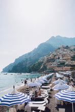 Load image into Gallery viewer, Positano Beach Umbrellas Amalfi Coast Italy