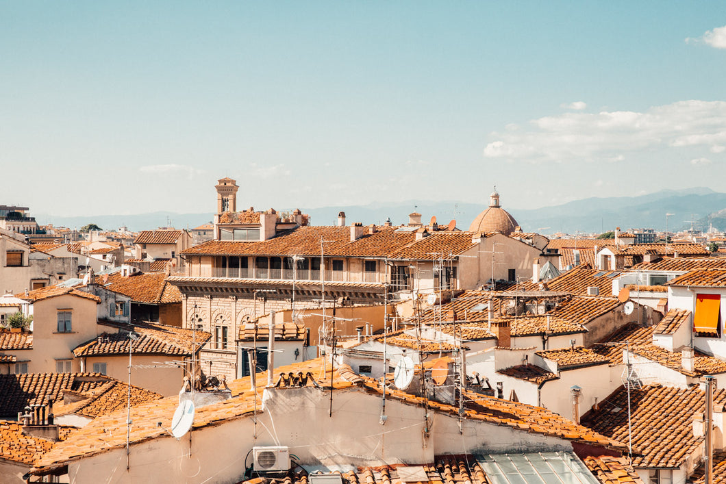 Florence Terracotta rooftops Italy
