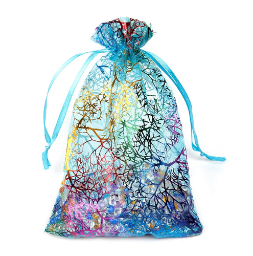 Gift Coralline Organza Pouch Party Bags