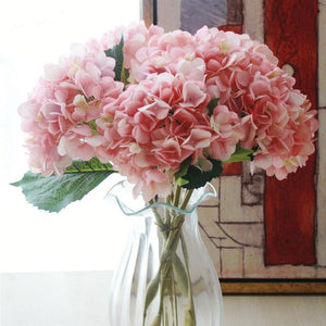 Artificial Flowers Hydrangea Plants Wedding Decoration