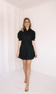 LALA LAND COTTON MINI DRESS
