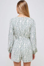 Load image into Gallery viewer, SUMMER ESCAPE FLORAL PLAYSUIT IN IVORY