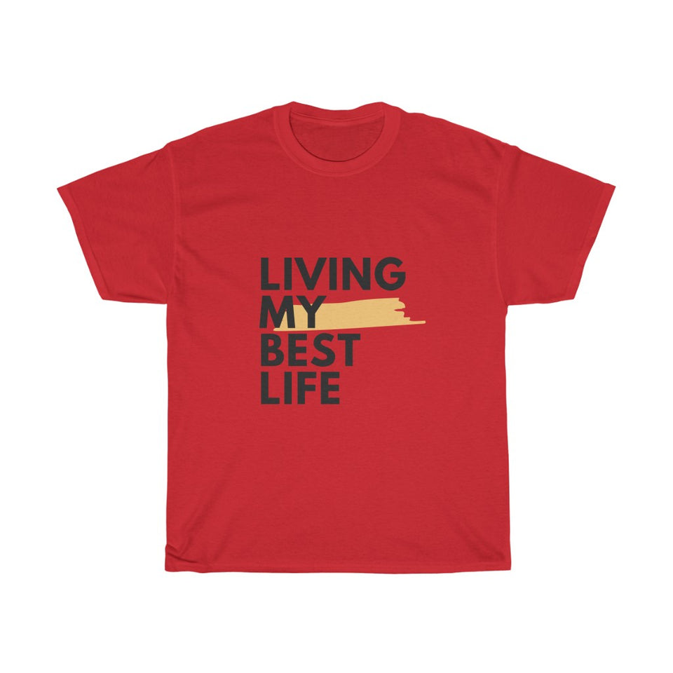 Unisex Heavy Cotton Tee - Best Life