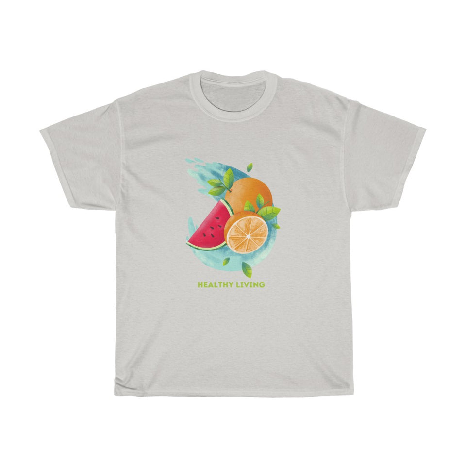 Unisex Heavy Cotton Tee - Healthy Living