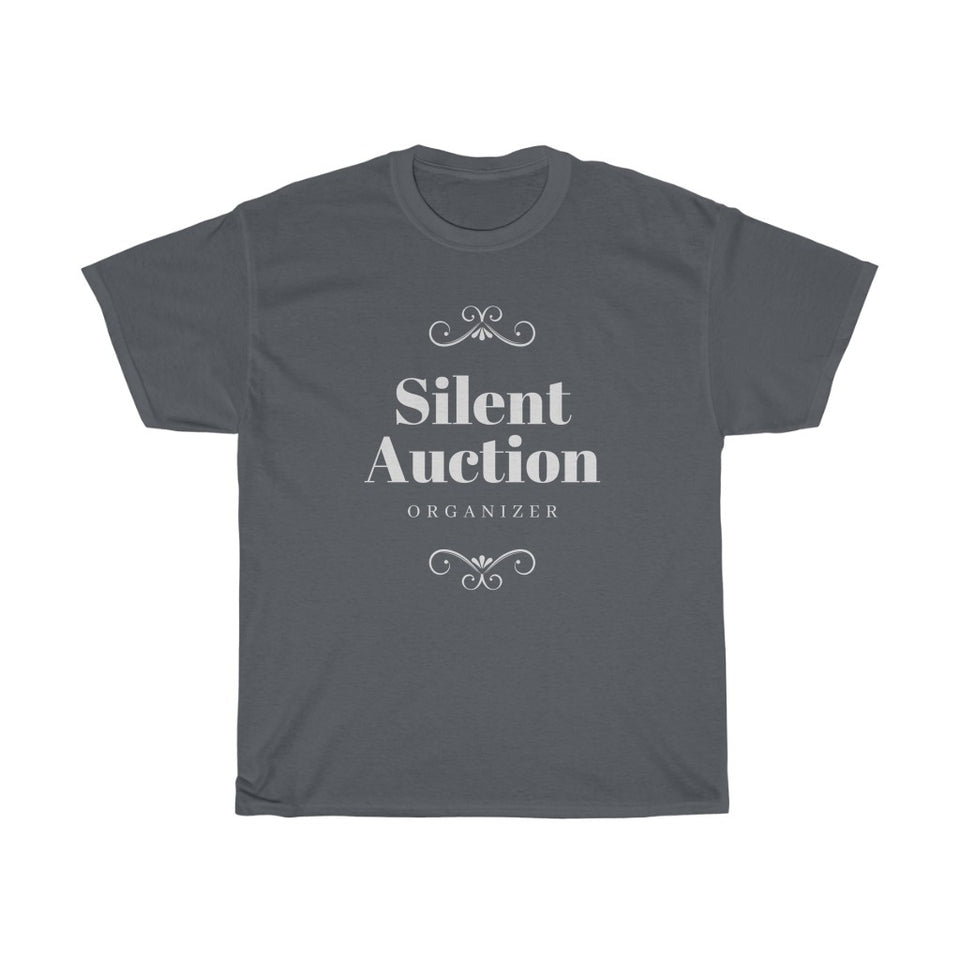 Unisex Heavy Cotton Tee - Silent Auction