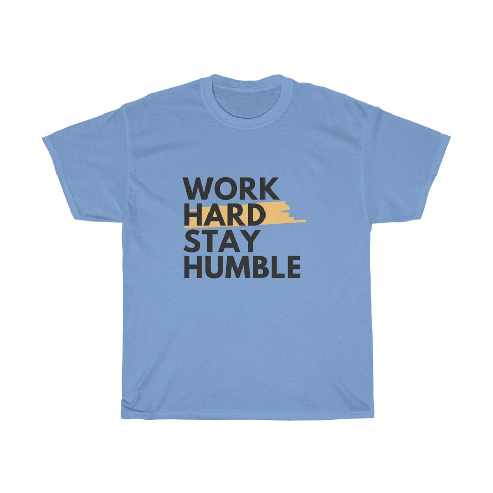 Unisex Heavy Cotton Tee - Work Hard