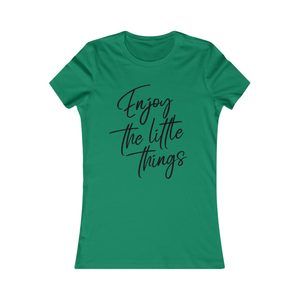 Womens Premium T-shirt - Enjoy