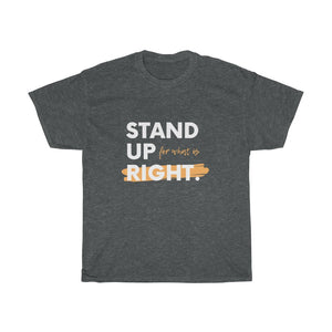 Unisex Heavy Cotton Tee - Stand Up