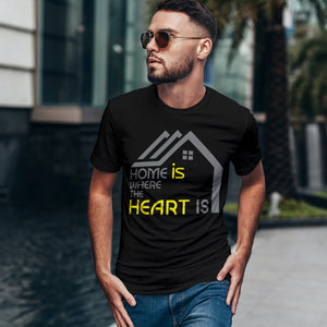 Short Sleeve Premium Tee - Home My Heart