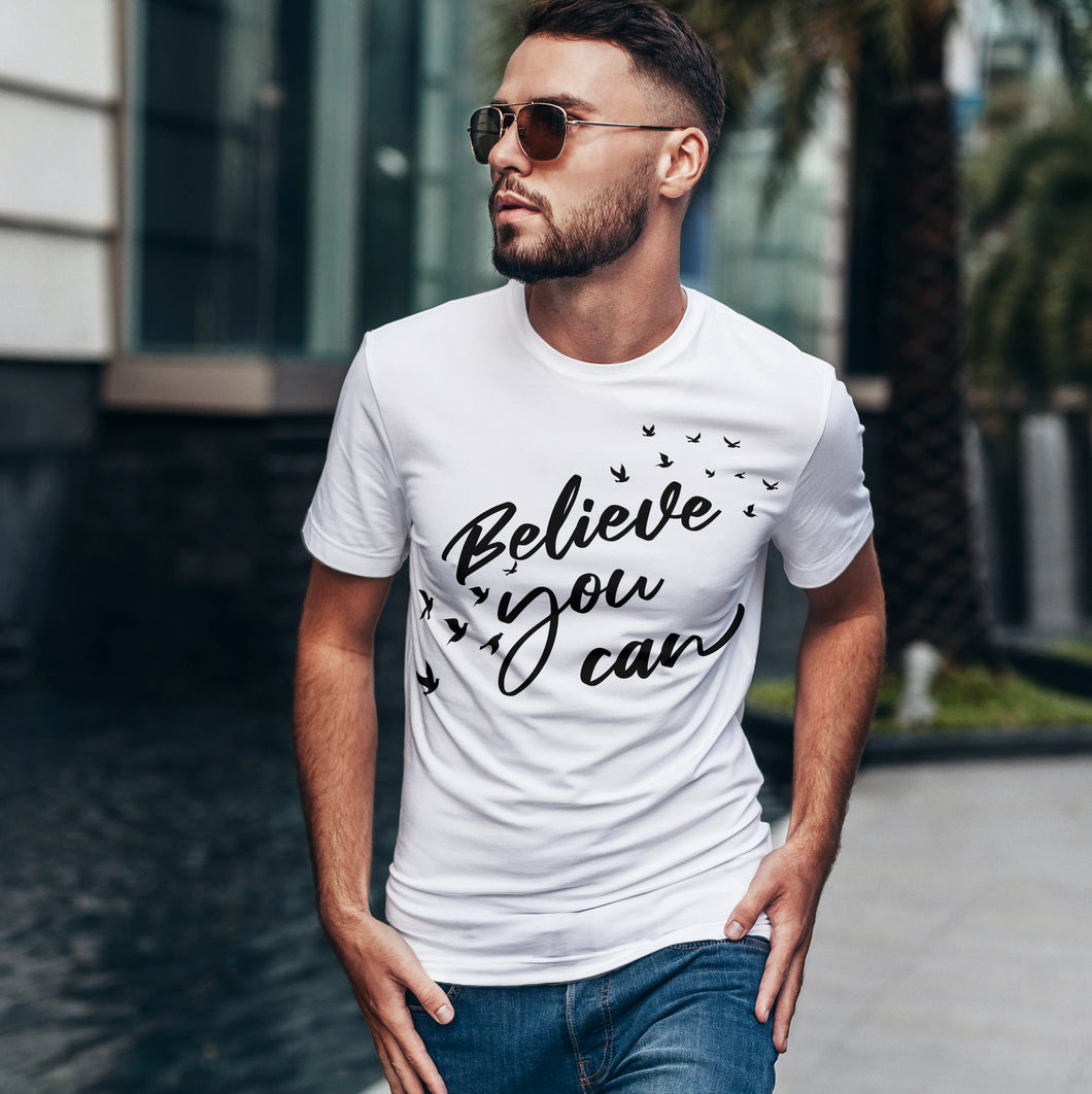 Short Sleeve Premium Tee - Believe You Can
