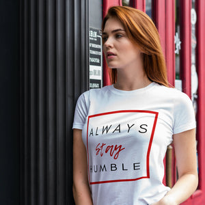 Unisex Heavy Cotton Tee - Stay Humble