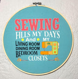 Sewing Fills My Days- Panel