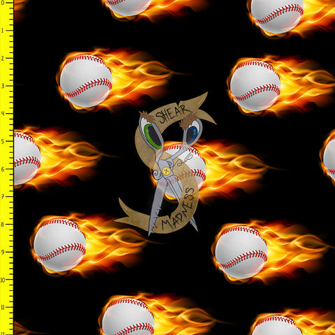 Flaming Baseballs