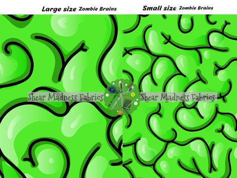 Zombie Brains                ** 2 Sizes Available **