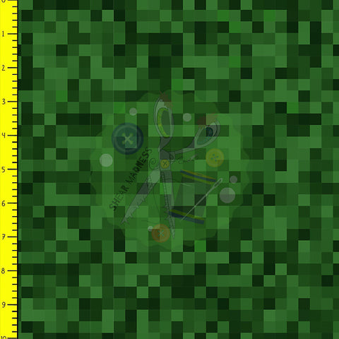 Creeper Green Pixels