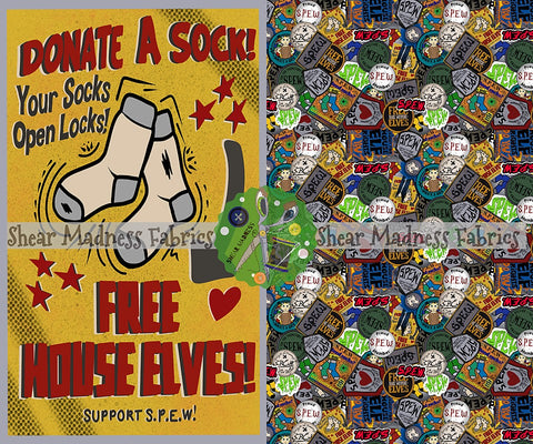 Donate A Sock - Topper Set         ** 2 Sizes Options