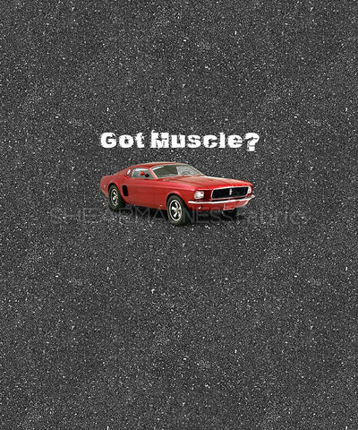 Got Muscle #2 Panel        ** Clearance **