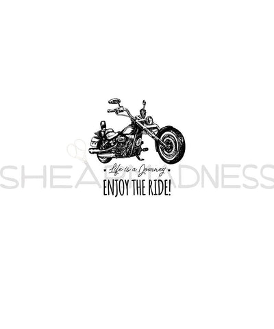 Enjoy The Ride Panel (White)