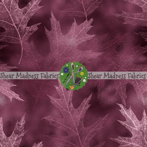 Burgundy Leaves