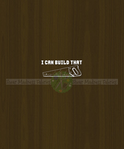 I Can Build That - Panel