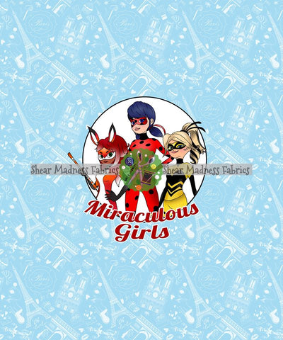 Miraculous Girls (Blue)  * Panel