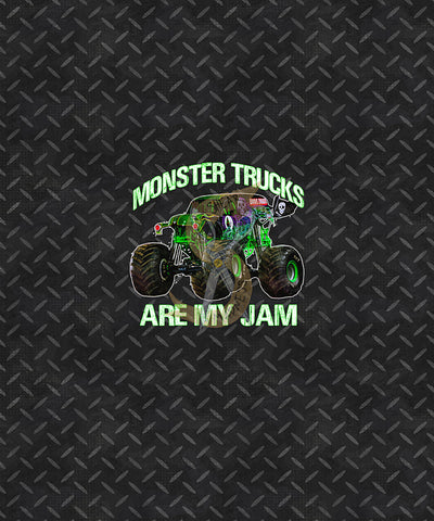 Monster Trucks Are My Jam * Panel