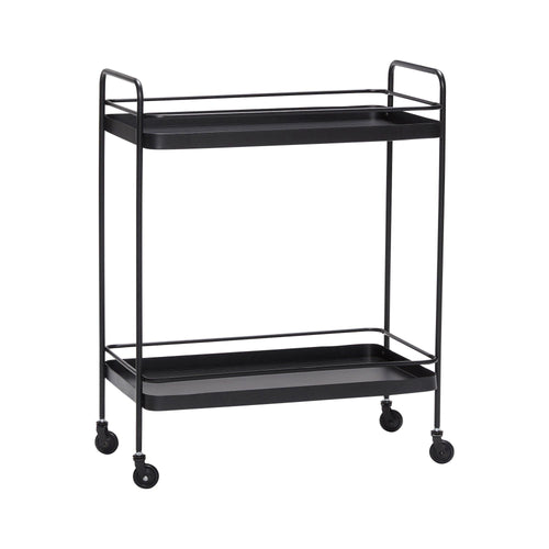 Trolley, metal, black