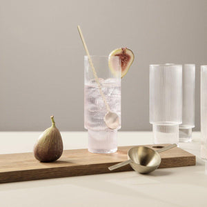Ripple Long Drink Glas - 4 stk.