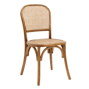 Wicky Chair W. Wickerwork, Brown