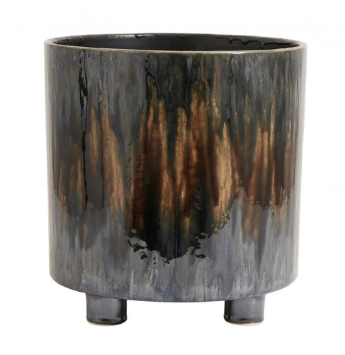 Pot, M, Col. Dark Brown Art