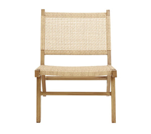 Vasai lounge chair, natur