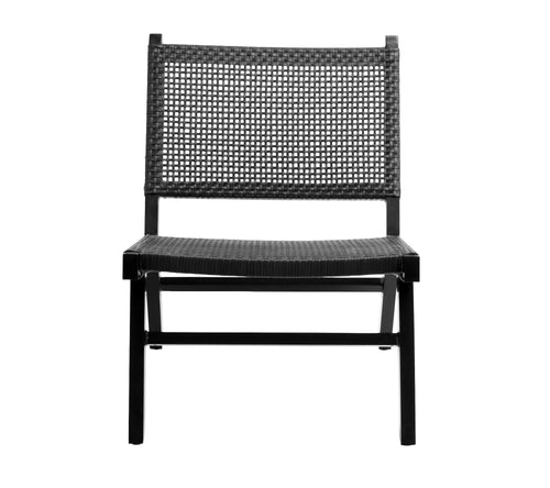 Vasai lounge chair, black