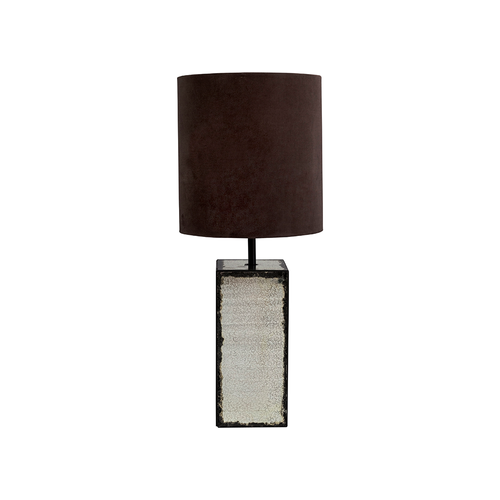 Lamp shade hermelin velvet