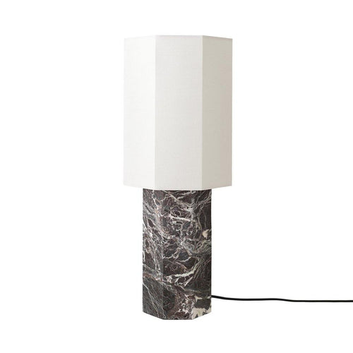 Eight over eight marble lamp