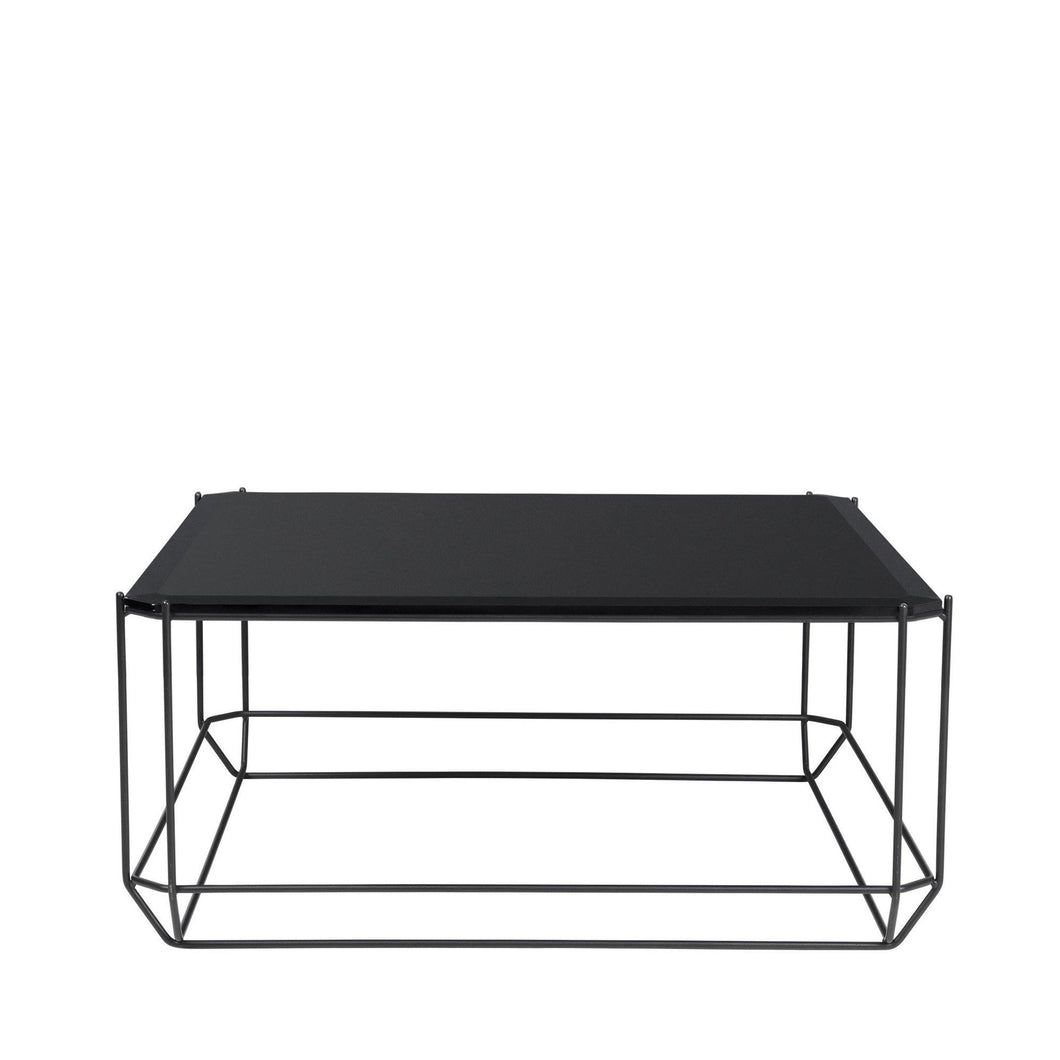 The jewel Coffee Table - sort glas