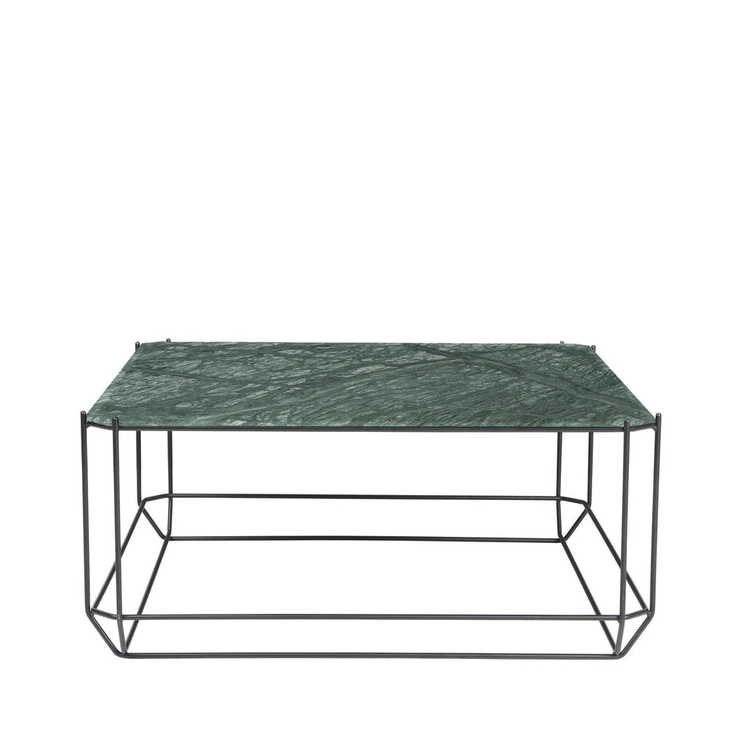The jewel Coffee Table, Marble - Green