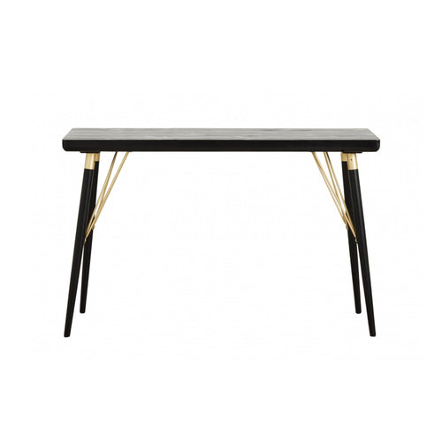 Consol table, Black wood